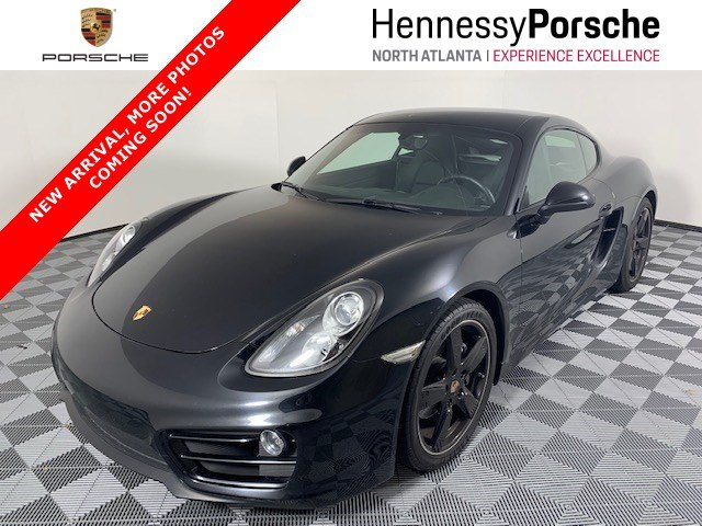 Certified Pre-Owned 2014 Porsche Cayman 2DR CPE