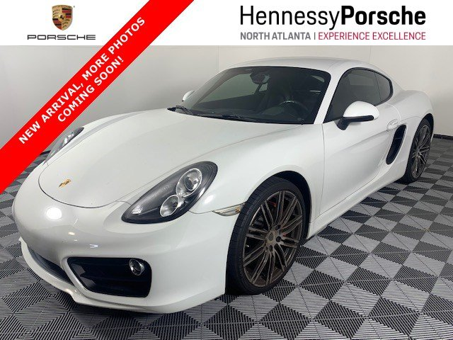 Certified Pre Owned 2016 Porsche Cayman S