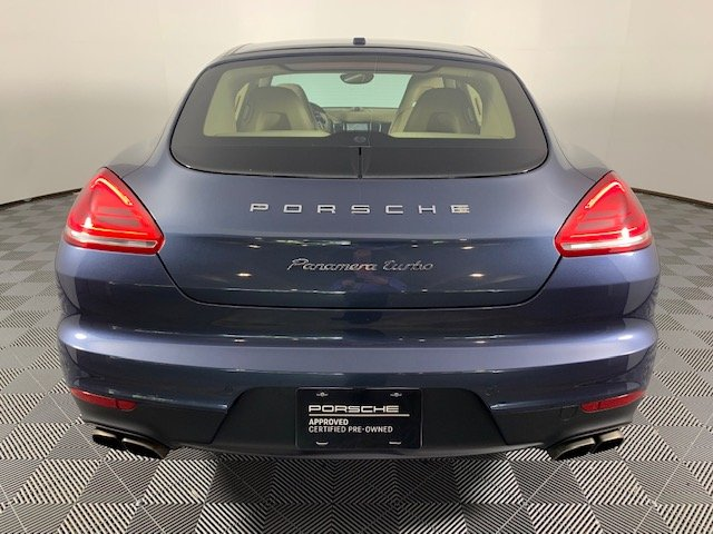 Certified Pre-Owned 2015 Porsche Panamera Turbo