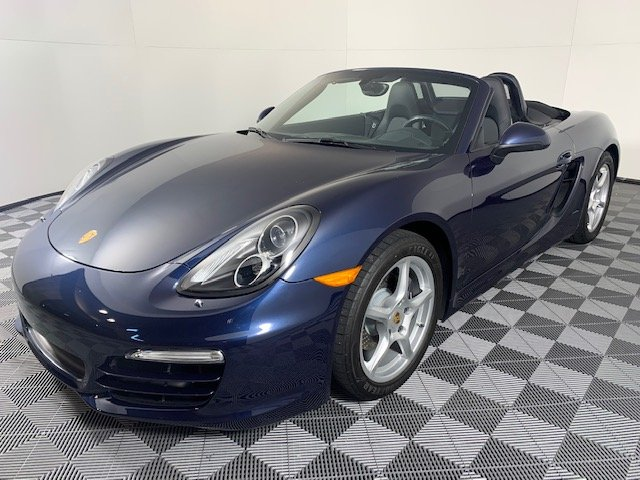 Certified Pre-Owned 2014 Porsche Boxster 2DR ROADSTER