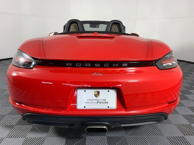 Certified Pre-Owned 2017 Porsche 718 Boxster 2DR ROADSTER