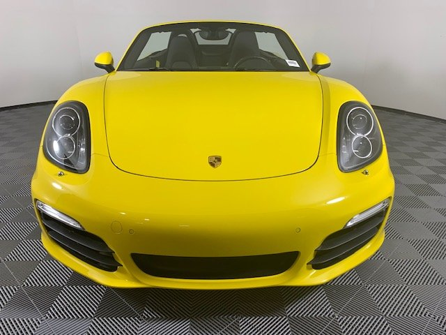 Certified Pre-Owned 2016 Porsche Boxster 2DR ROADSTER