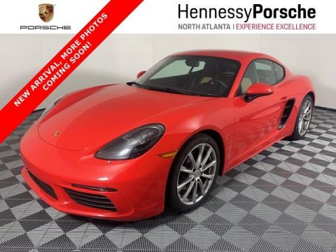 Certified Pre-Owned 2019 Porsche 718 Cayman 2DR COUPE
