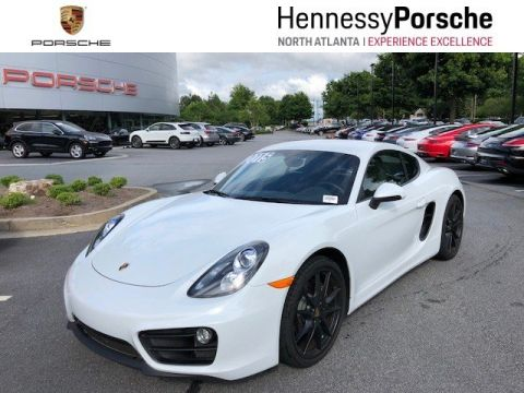 Certified Pre-Owned 2015 Porsche Cayman 2DR CPE