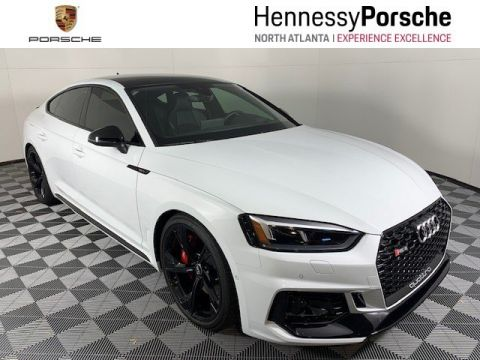 Pre-Owned 2019 Audi RS 5 Sportback 4DR SDN 2.9 QTRO